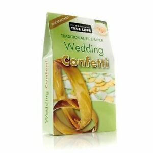 Traditional Wedding Throwing Biodegradable Rice Paper Confetti Box