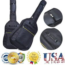 "Hot 41"" Acoustic Guitar Gig Bag Backpack Double Straps Padded Guitar Soft Case"