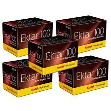 5x Kodak Professional Ektar 100 Colour Print Film 35mm 135-36 Exposures
