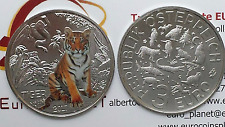 3 euro 2017 Austria Autriche Österreich Tigre tiger tijger tygrys тигр 虎 虎