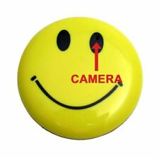 Happy Face Smile Body Button Hidden Spy Nanny Camera with Audio 8GB