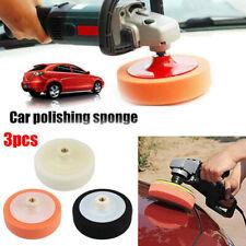 3PCS Car Polishing Sponge Waxing Buffing Pads Compound Auto Polisher PADs