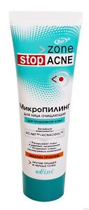 Facial Cleansing Micropeeling for problem skin against acne and blackheads 75ml