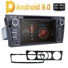 """For BMW E90/E91/E92 2006-2012 Android 9.0 Stereo 7"""" Car Radio DVD Player GPS SWC"""