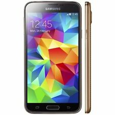 Samsung Galaxy S5 16GB Sim Free Unlocked Android Smartphone Copper Bronze