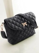 Women's Handbag Fashion Quilted Lining Design Zipper PU RRP £20