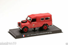 Coche Bomberos Diecast 1:43 scale - LAND ROVER SERIES III. SOFT TOP - CBO023