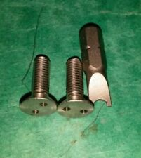 VW Aircooled Beetle Wing Top Front Indicator Anti-Theft Screws STAINLESS STEEL