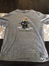 NWT Polo Ralph Lauren Ski Bear Ski Pwing Stadium 92 Sweater T-shirt Crest Sz XL