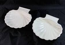2 Bon Chef Scallop Clam Shell Baking Dish
