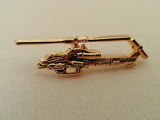 AH-1 Super Cobra US Marine Corps Bell Helicopter Pin / Gold Color / NEW