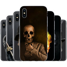 Dessana Skulls TPU Silicone Protective Cover Phone Case Cover For Apple