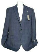 MICHAEL KORS Natural Stretch Men's Polyester/Wool  Blend SUIT JACKET 44 L