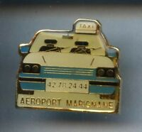 RARE PINS PIN'S .. AUTO CAR TAXI AEROPORT MARIGNAGNE¤1D