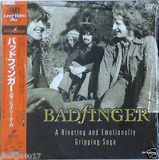BADFINGER AC-3 Laserdisc Music Videos Very Rare JAPAN LD OBI in shrink
