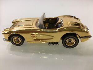 HOT WHEELS '58 CORVETTE 24K GOLD PLATED