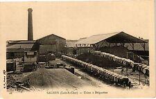 CPA  Salbris (Loir-&-Cher) -  Usine á Briquettes   (208951)
