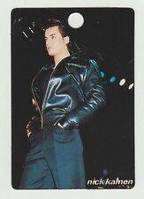 1980s UK Pop Star Card Madonna protege UK Each Time You Break Singer Nick Kamen