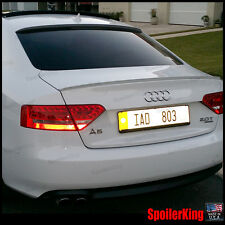 COMBO Spoilers (Fits: Audi A5/S5 2008-16 2d cpe 8T) Rear Roof Wing & Trunk Lip