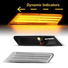 PORSCHE 911 997 (04-12) DYNAMIC SEQUENTIAL CLEAR LED SIDE INDICATORS LIGHTS