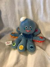 Baby Einstein Plush OCTOPUS Talking Toy COLORS English Spanish French GUC