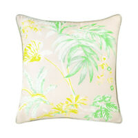 YVES DELORME | ETE CUSHION COVER  PRINTED SILK 40% OFF RRP