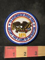 Firefighter KENNY FIRE COMPANY #1 Patch Extinguish Fire Except Patriotism 93E2