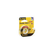 Scotch® Double Sided Tape 137, .5 in x 450 in