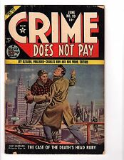 Crime Does Not Pay #99 (Jun 1951, Lev Gleason)