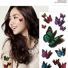 3 Sheet 3D Tattoos Sticker Tattoos Temporary tattoos For Body Cosmetic And Art