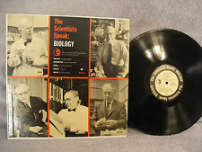 The Scientists Speak: Biology, Harcourt, Brace & Company HB SS 1, 1959 Education