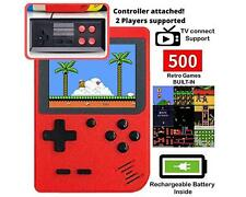 Retro Game Console with 500 Classic Game 1020mAh Battery 3 Inch IPS Screen