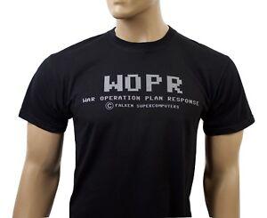 Wargames 80s inspired mens film t-shirt - War Operation Plan Response