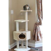 Armarkat 52 in. Cat Tree Pet Furniture Condo - A5201