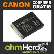 NB-5L Batteria Alta Qualità per Canon Digital IXUS 800 IS, 850 IS, 860 IS,