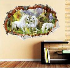 Unicorn Horse Removable Vinyl Sticker Living Room Bedroom Wall Art Decal Decor