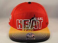 Miami Heat NBA Snapback Hat Cap 47 Brand Glowdown