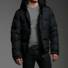 NWOT Abercrombie & Fitch Men's Kempshall Jacket Down Coat Size L Navy