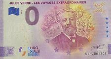 BILLET 0  EURO JULES VERNE FRANCE  2021  NUMERO DIVERS