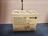 2 pack Xerox 106R0262 Yellow Toner Phaser 7100 Genuine OEM