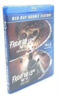 Friday the 13th Part V / Friday the 13th Part VI (Blu-ray Disc, 2015) NEW OOP