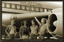 LED ZEPPELIN PLANE - ROCK 'N ROLL POSTER - 24x36
