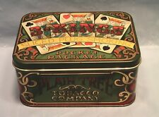PLAIN TREE TOBACCO TIN CANISTER VINTAGE 3 KINGS POCKET PACKAGE MADE IN ENGLAND