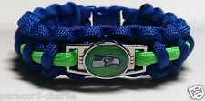 Seattle Seahawks Blue & Green Paracord Bracelet or Lanyard or Deluxe Key Chain