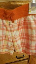 New Girls Plaid Shorts Size 7-8