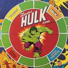 Complete~VINTAGE 1978 THE INCREDIBLE HULK with THE FANTASTIC FOUR Board Game