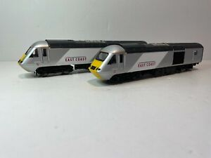 "HORNBY 00 GAUGE - R2964 - ""EAST COAST TRAINS"" CLASS 43 HST TWIN POWER/DUMMY"