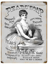 Pears Soap Healthful Skin Advertisement Reproduction Sign