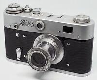 "Vintage USSR camera ""FED 3"" M39 mount camera Leica copy US seller [0082] tested"