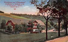 Gießhübel Neustadt Böhmen Gasthaus Schnappe Postkarte